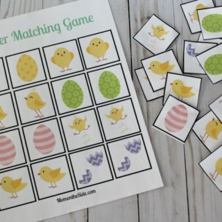 Easter Fun for Kids: Printable Easter Matching Game