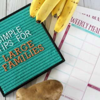 Simple Tips for Large Families: How to Save Money on Groceries for Large Families