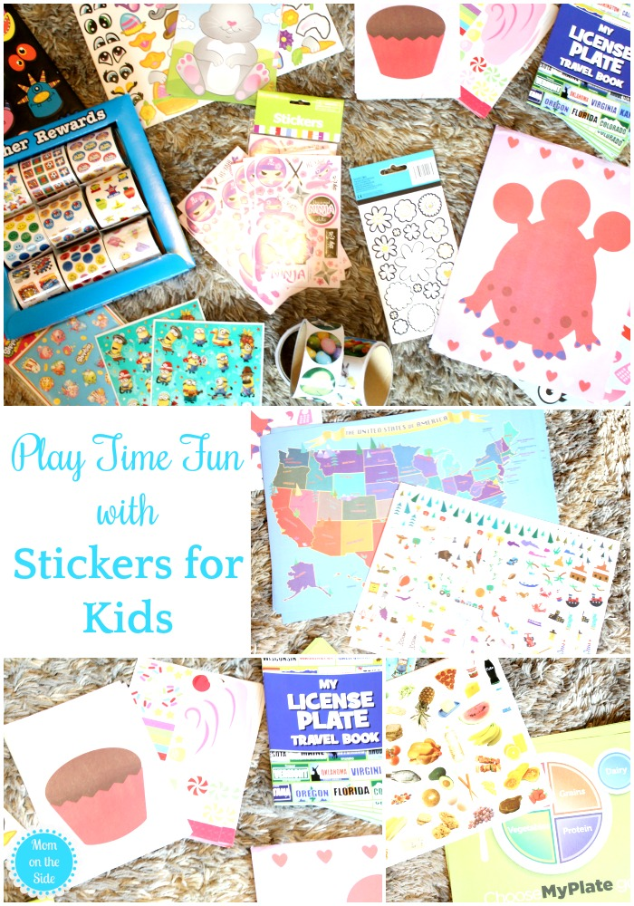 Fun Stickers for Kids for play time, travel, and learning!