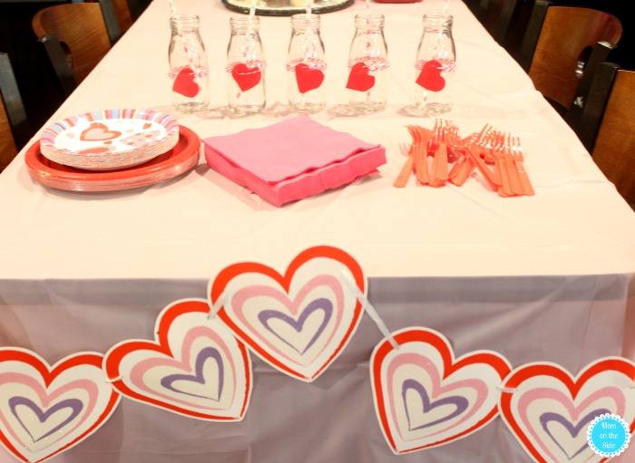 Decorating for a Valentine's Day Crafts for Kids Party