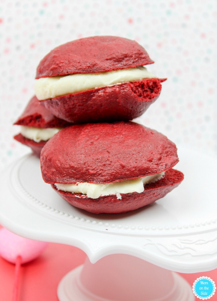 How to Make Semi-Homemamde Red Velvet Whoopie Pies