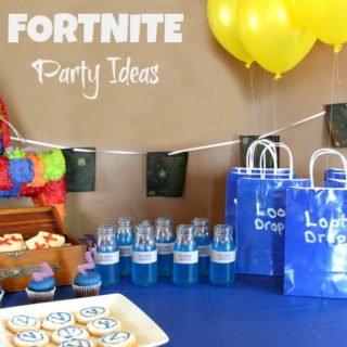 FORTNITE Party Ideas