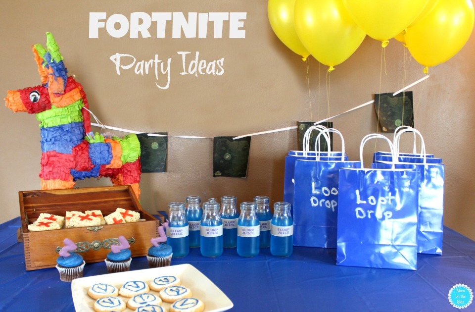 FORTNITE Party Ideas: Desserts, Decorations, and Fun
