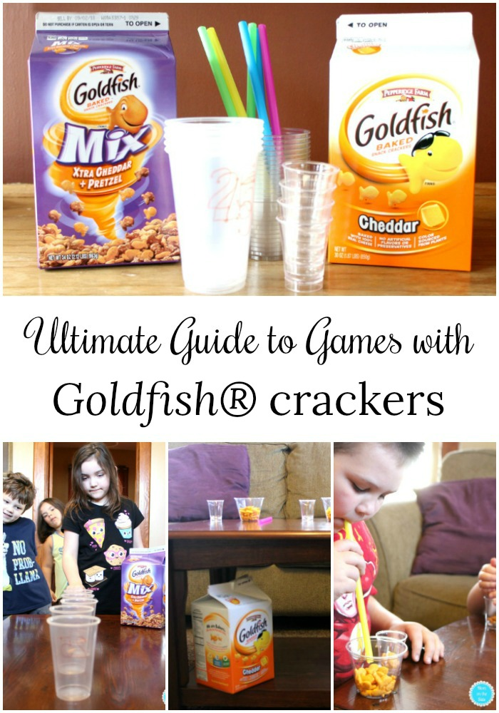 The Ultimate Guide to Games with Goldfish Crackers for Kids and Families