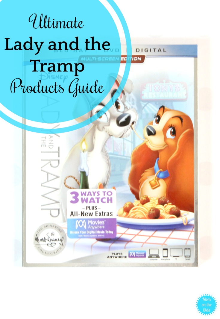 Ultimate Guide to Lady and the Tramp Toys and Products to celebrate the release on Walt Disney Signature Collection