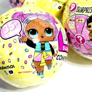 Three Easter Basket Toys for 2018: L.O.L. Confetti Surprise Dolls