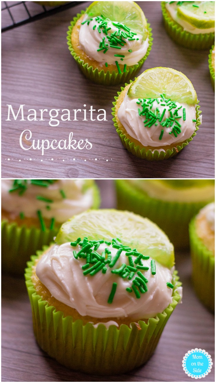 Boozy Desserts | Deliciously Easy Margarita Cupcakes Recipe with Boxed Cake Mix and Tequila