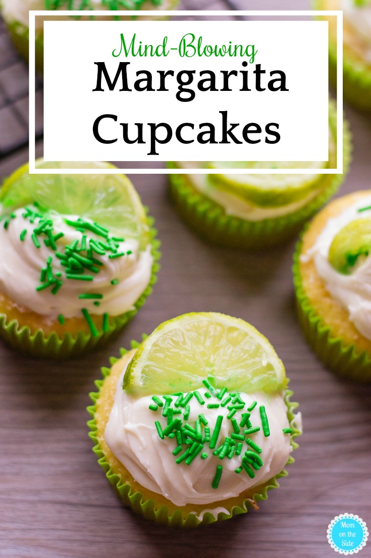 How to Make Margarita Cupcakes that will blow your mind and taste buds. An easy dessert recipe using boxed cake mix, a little tequila, and a few kitchen staples.