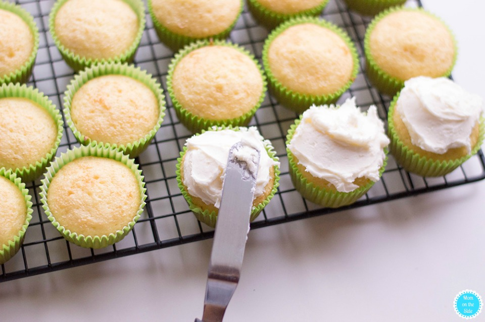 Boozy Cupcakes: Margarita Cupcakes with Tequila
