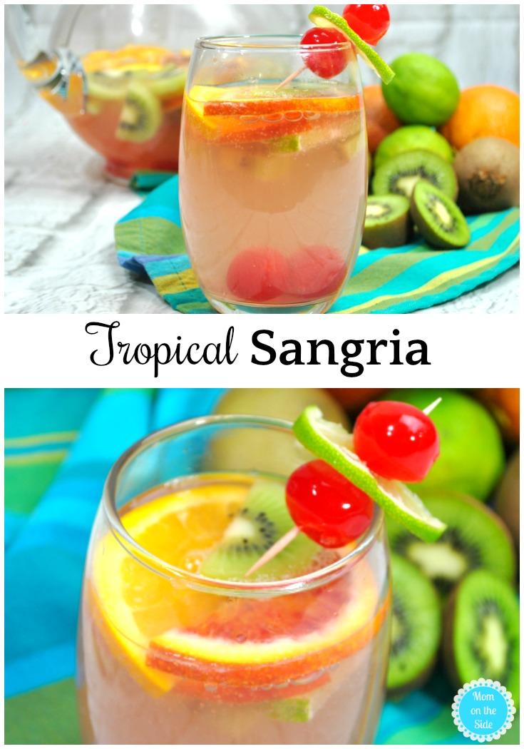 Sangria Recipe: Tropical Sangria with White Wine