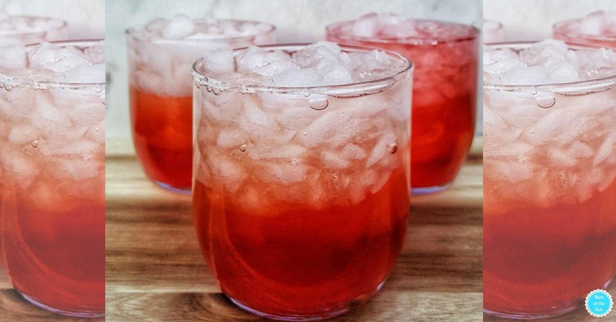 Secret Six Cocktail with Peach Vodka