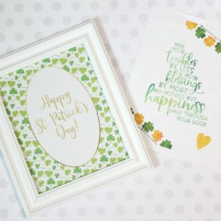 St. Patrick's Day Printable Wall Art