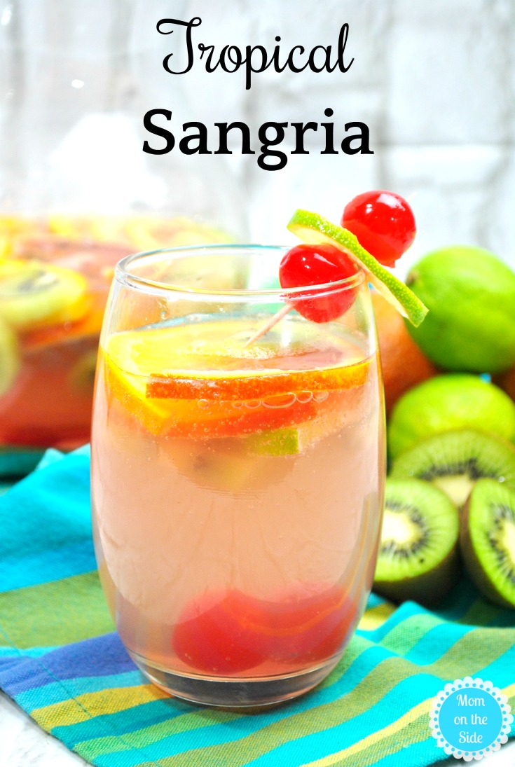 Delicious Cocktail Recipe: Tropical Sangria with White Wine