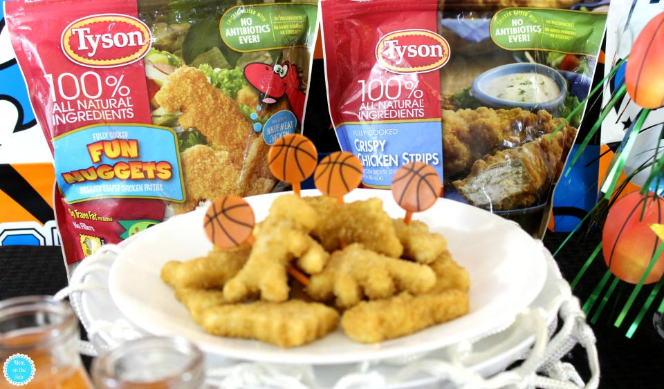 Tyson Chicken for College Basketball Game Day Spreads