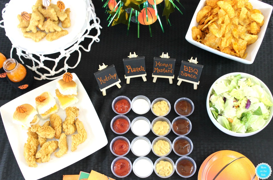 Dipping Sauces for College Basketball Game Day with Tyson Chicken