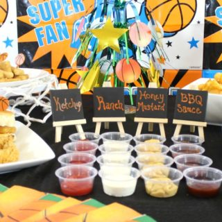Slam Dunk Spread: Food for College Basketball Game Day