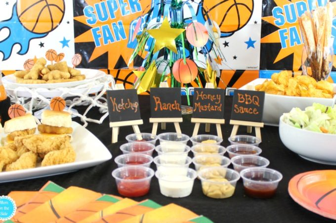 College Basketball Game Day Food Ideas with Tyson