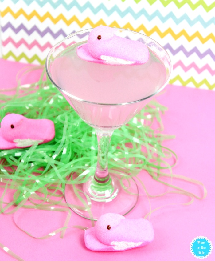 Peeps Vodka Cocktai: Recipe for Pink Lemonade Peeps Vodka