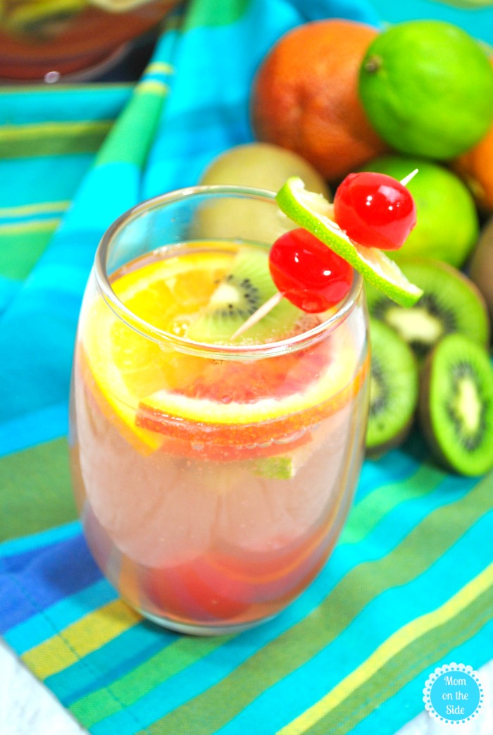 Cocktail Recipe: Tropical Sangria with White Wine Recipe