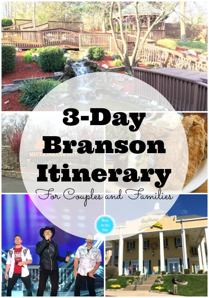 Shows, Food, and Attractions for the best 3-Day Branson Itinerary for Couples and Families