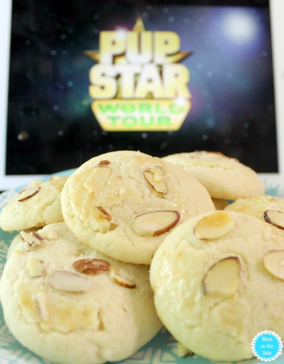 Pup Star: World Tour on Netflix and Chinese Almond Cookies Recipe