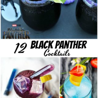 Plan a date night in with Black Panther Blu-ray and DVD while sipping on one of these 12 Black Panther Cocktails!