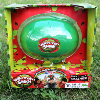 Family Game Time Fun with Watermelon Smash