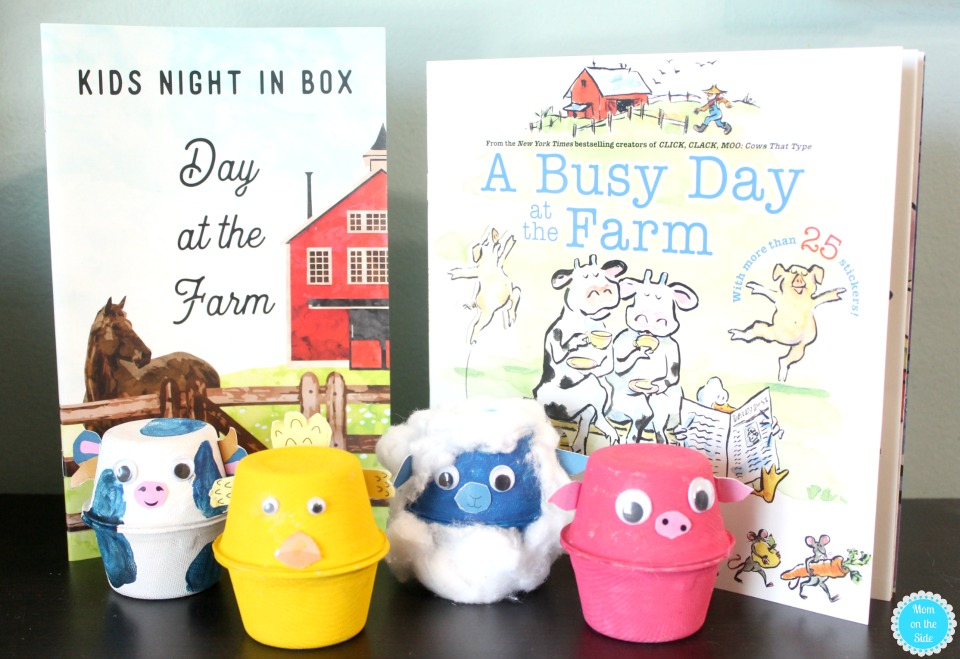 Plan a night of family fun with Kids Night In Boxes