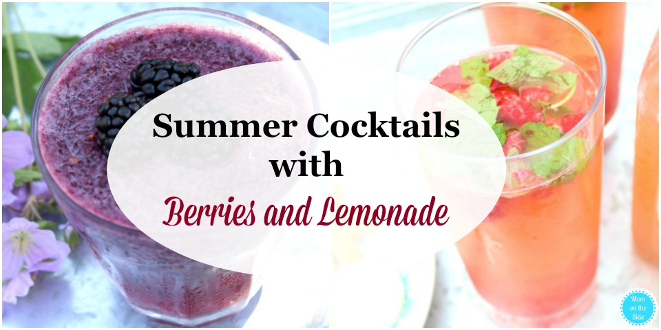 Cocktail Recipes: Summer Cocktails with Berries and Lemonade