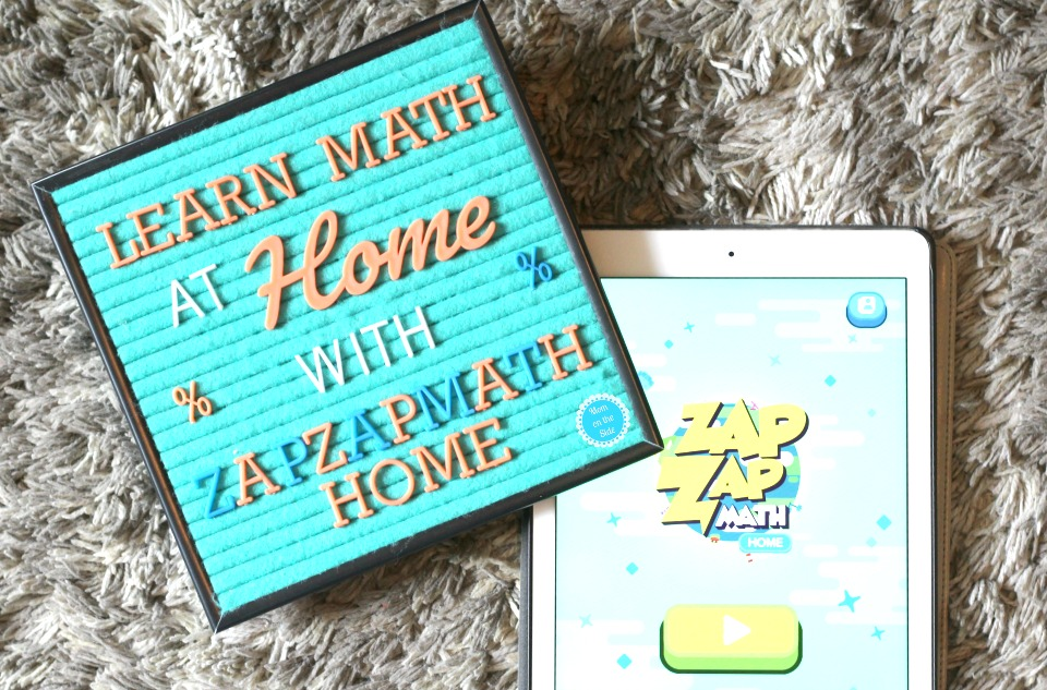 Fun ways to learn math at home with Zapzapmath Home Educational Apps