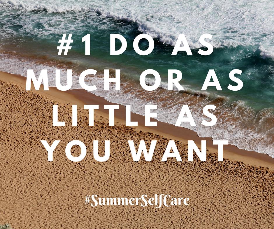 Summer Self-Care for Moms