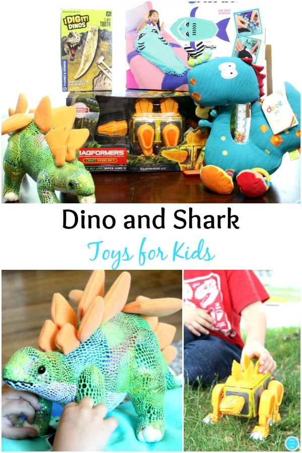 Gift Ideas for Kids: Shark Toys and Dinosaur Toys