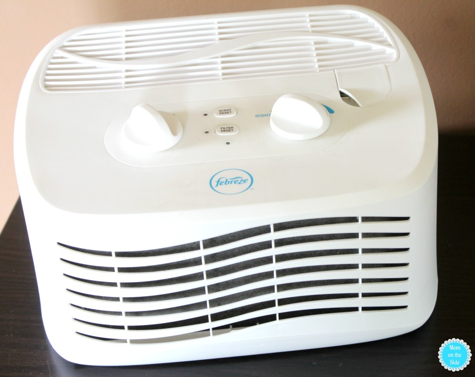8 Things You'll Always Find in My Living Room: Febreze Air Purifier