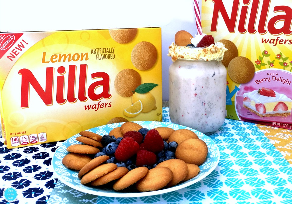 New Lemon NILLA Wafers and Berry Lemon Freak Shakes