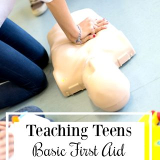 A Year of Teaching Teens Life Skills: Teach Teens Basic First Aid Skills