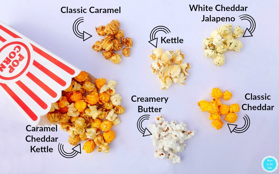 The Best of Gary Poppins Variety Pack of Popcorn Flavors