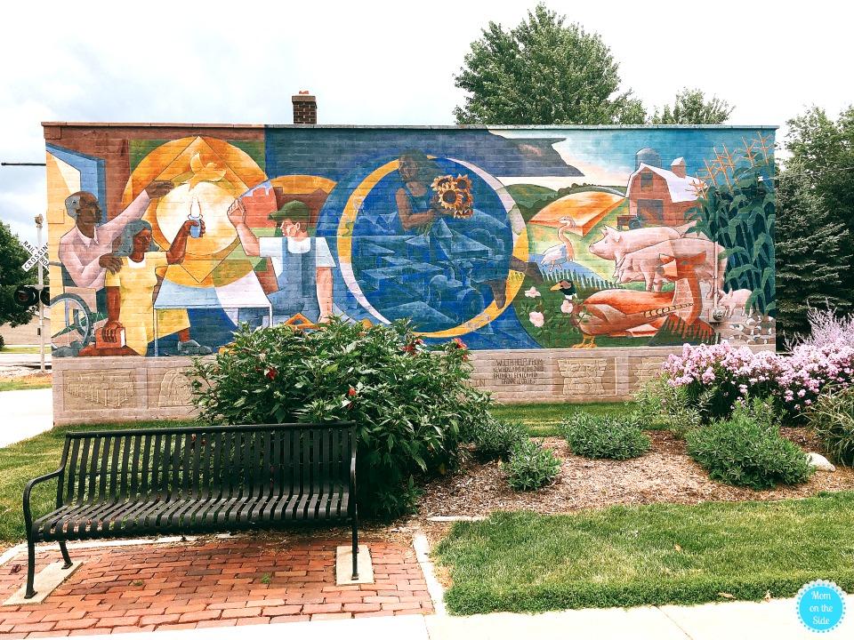 Grinnell, Iowa Mural