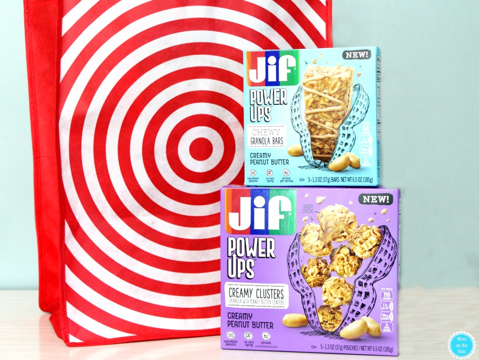 Find new Jif Power Ups at Target in granola bars and clusters