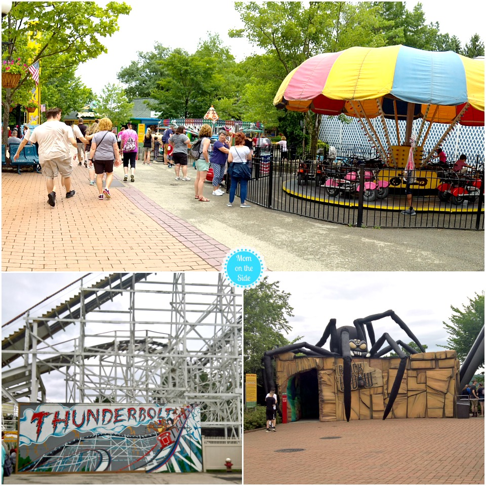 Rides at Kennywood in Pittsburgh