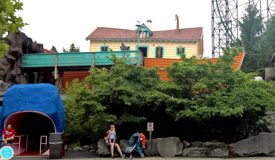 Noahs' Ark at Kennywood in Pittsburgh