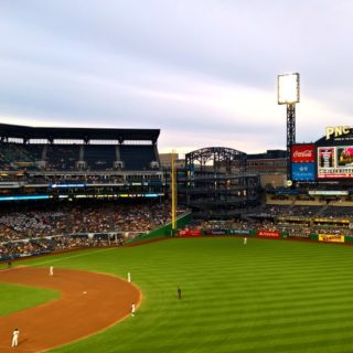 View from the All You Can Eat Seats at Pittsburgh Pirates PNC Stadium