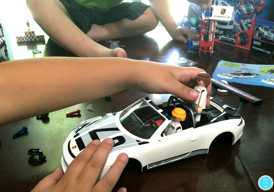 Playmobil Porsche 911 GT3 Car Set
