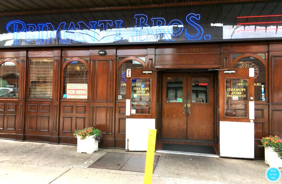 Restaurants in PIttsburgh's Strip District: Primanti Bros in Pittsburgh