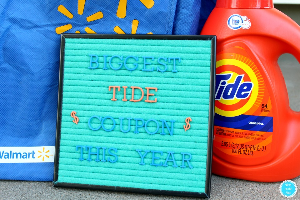 Biggest Tide Coupon and Walmart Deal