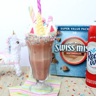 Ultimate Unicorn Frozen Hot Chocolate