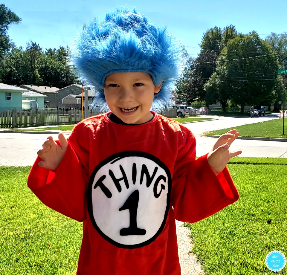Dr, Seuss Costumes - Things 1 and 2