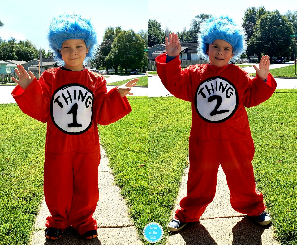 Comfortable Thing 1 and 2 Costume