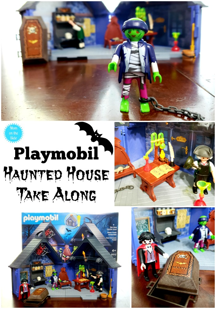 The New Playmobil Haunted House Take Along Play Set for Kids