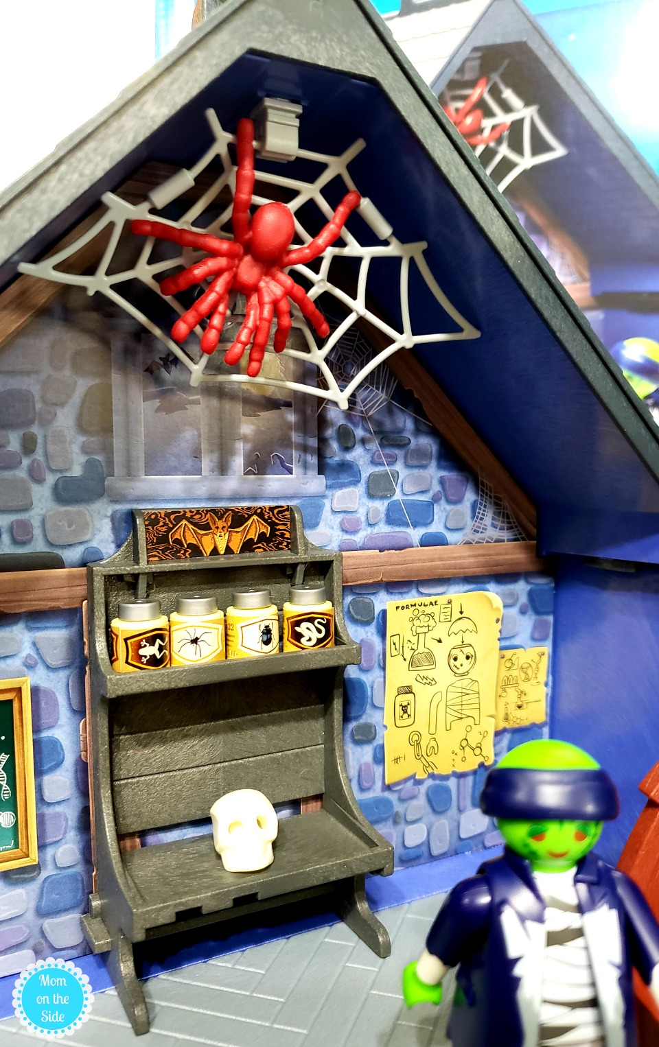 Inside Playmobil Haunted House