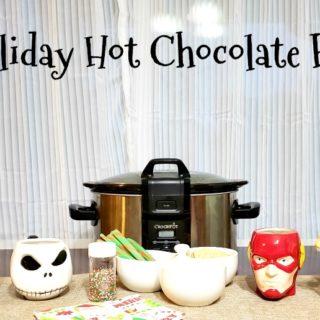 Easy Holiday Hot Chocolate Bar